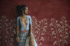 Ariadne, a Minoan Princess. Ancient Egyptian Art, Ancient Aliens, Ancient Greece, Ancient History, European History, American History, Art History, Minoan Art, Mycenaean