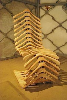 Coat Hanger Chair