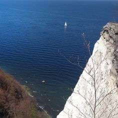 White cliffs of Rugen island