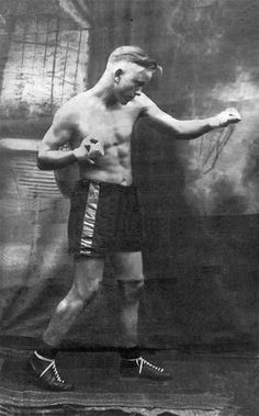 1930s  Boxer George Bold Thomas