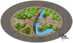Home - House Garden Landscape Open Space Architecture, Landscape Architecture Design, Organic Architecture, Landscape Plans, Urban Landscape, Architecture Details, Site Development Plan, Bubble Diagram, Landscape Illustration