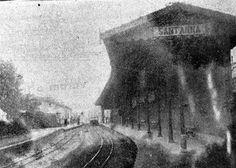 Antiga estação do trenzinho da Cantareira na av. Cruzeiro do Sul, entrando na rua Alfredo Pujol  // Fotos do Bairro de Santana... Para matar a saudade!... - Google Groups