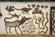 Image result for chhattisgarh tribal art