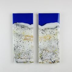 Isfydor Winter - kilnformed glass, wall form by Gerry King
