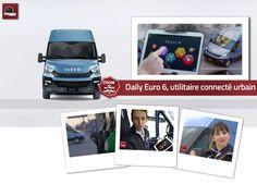Nouveau Daily Euro 6, utilitaire connecté urbain Présentation de la nouvelle application android du Daily : « Daily Business Up » par Vincent Côte