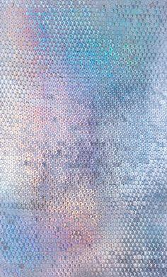 , sequin wall via Optical Fixation