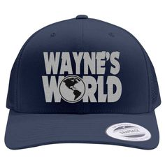7c6fda2a8a5ea Wayne s World Retro Trucker Hat