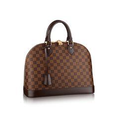 Alma MM - Damier Ebene Canvas - Handbags | LOUIS VUITTON