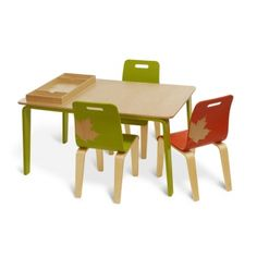 craftwork table and chair furniture for children crafts room