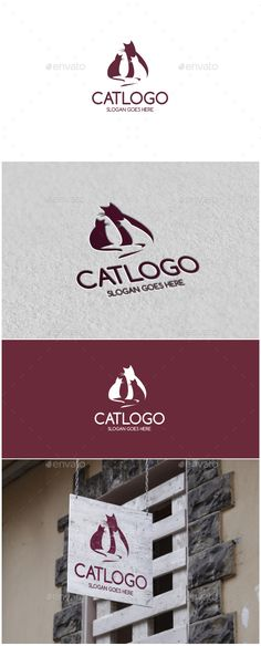 Cat Logo http://graphicriver.net/user/ms_designer/portfolio?ref=MS_designer