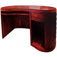 An Art Deco Walnut Desk, 1930s