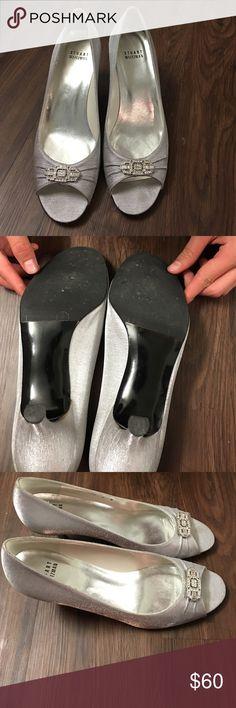 Stuart Weizman Shoes. I wore once. I put scuff at Shoes hospital for $15.99. Stuart Weitzman Shoes Heels