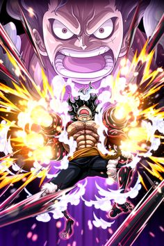 'Luffy Snakeman - One Piece' Poster by One-piece-World Luffy Gear Fourth, Luffy Gear 4, One Piece Wallpaper Iphone, News Wallpaper, Manga Anime One Piece, One Piece Tattoos, One Piece Drawing, One Piece Comic, Anime Art