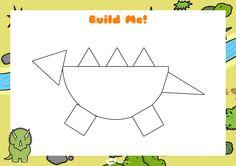 Dinosaur Activities for Kıds - Dinosaurs Preschool, Dinosaur Activities, Dinosaur Crafts, Preschool Activities, Dino The Dinosaur, Kindergarten Crafts, Math For Kids, Toddler Games, Grasshoppers