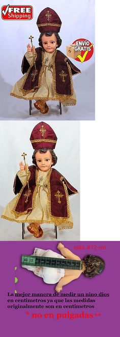 Other Cultural Clothing 155254: Papa Burgundy Ivory, Ropita Dios, Baby Jesus Clothing, Baby Jesus, Nino Dios -> BUY IT NOW ONLY: $38.5 on eBay!