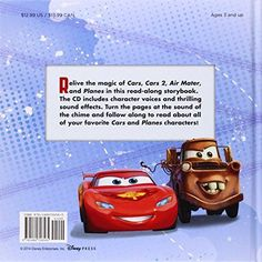 Cars / Planes: Fly-and-Drive Read-Along Storybook and CD: Purchase Includes Disney eBook!: CD Featur