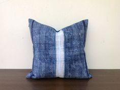 Tribal Hemp Textile Decorative Pillow Handmade by orientaltribe11, $60.00