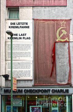 Berlin - Checkpoint Charlie Museum.  This was an eye opener.  1976