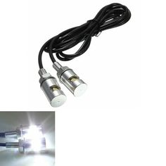 1pair 12V Motorcycle White SMD LED License Plate Light Lamp Bulb. Description:  easy Installation, Direct Bolt-on  long Lasting And Low Power Consumption  shock Resistant  fitment:   universal Fits For All Motorcycle.    specification:  quantity: 2pcs  total Length: 49.5cm  length Of The Cable: 46cm  head Dimensions: 3.5 X 1.2cm   led Type: 1 Smd Led  body Color: Silver   light Color: White   voltage: 12v     package Included:  1 X Pair License Plate Lights