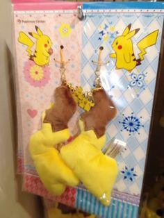 Pokemon Photos from Tokyo - Pikachu pair tail cellphone strap