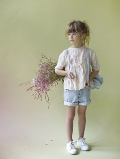 way to dress up denim while still looking like a kid, beautiful.  #estella #kids #fashion