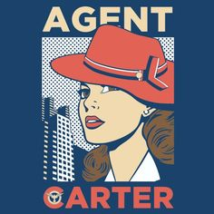 The Campaign || Peggy Carter || by DAR1N || WeLoveFine Agent Carter T-Shirt Contest || #fanart