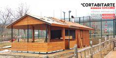 PROYECTOS | #tradicional #profesional ampliación de quiosco/cafetería · para ayuntamiento #Chiloeches #Guadalajara