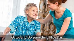 October 5 Do Something Nice Day