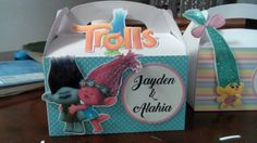 A personal favorite from my Etsy shop https://www.etsy.com/listing/492992658/trolls-treat-box-for-party-favors