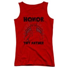 King of the Hill: Honor Junior Tank Top