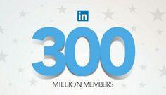Linkedin pokořil hranici 300 mil uživatelů na světě.