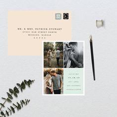 Dieses Angebot ist eine Anzahlung auf Ihre Bestellung der gedruckten Karten + Umschläge. Lieber ausdrucken selbst? DIY druckbare Möglichkeit finden Sie hier: https://www.etsy.com/listing/547477960/modern-quadrant-wedding-save-the-date?ref=shop_home_active_2 Liebe das Design, sondern