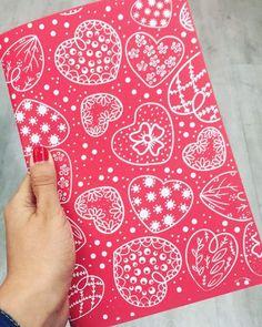 Cuadernito con ❤corazones kinoko❤🍄🙂🍄🙂🍄🙂 #kinokeate #kinokeando #consumemexicano #diseñomexicano #oaxaca #mexico #patterndesign #pattern #print #serigrafía #serigraphy #printisntdead #printmaking #desing #fiesta #oaxaqueña #cultura #tradicion #color #artprint #printdesign #corazon #fullcolor #bazarmexicanitas #friyay