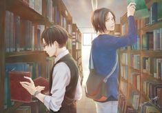 Levi and Eren Eren E Levi, Armin, Ereri, Levi Squad, Attack On Titan Ships, Levi Ackerman, Manga Comics, Anime Ships, Studio Ghibli