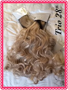 "Trio 28"" Body Wave Curly https://m.facebook.com/rapunzelshairboutique"