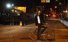 contemporary reflective clothing for safe and stylish biking!