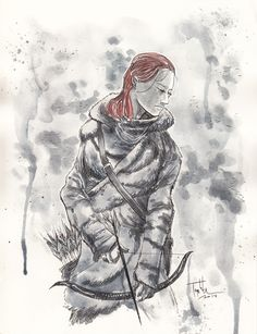 Ygritte by Ben Templesmith