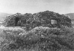 Maja Nilsens gamme. Vestre Jacobselv, Vadsø, Finnmark, 1897.