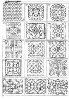 Httpwwwiris 1400 Crochet Patterns For Allhtmlfree crochet patterns: free crochet granny square charts and projectsok, this is for those that can read diagrams. I had a hard time pulling up the site though.Delicatessen in gehaakte Gabriela: Patterns r Crochet Motifs, Crochet Blocks, Granny Square Crochet Pattern, Crochet Diagram, Crochet Stitches Patterns, Crochet Chart, Crochet Squares, Free Crochet, Granny Squares
