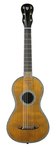 Pons jeune - Paris ca. 1825 | Kresse Gitarren | 19th century guitars | http://www.kresse-gitarren.de/en/archive/g/pons-jeune-paris-ca-1825/