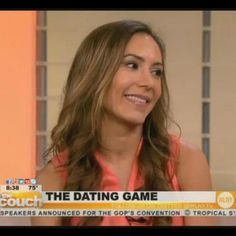 "Discussing ""The Dating Game"" on WLNY."