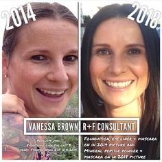 Check out this before and after! This is my friend, my teammate, Ness!! Her results are awesome—R+F is #1 for a reason—it works!! Message me when you are ready for your before and after!! #whynotyou #whynotnow #60daymoneybackguarantee #decidetodayhowtomorrowlooks