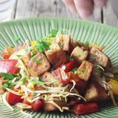 Tofu Recipes, Vegetarian Recipes, Healthy Recipes, Seitan, Tempeh, Cena Light, Fresco, Fitness Nutrition, Food Porn
