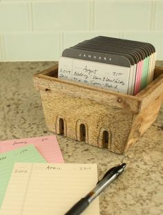 #journal your life with this Perpetual Calendar by @1canoe2. #calendar