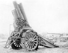 World War 1: Krupp siege mortar