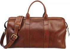 Lotuff & Clegg- leather duffel travel bag