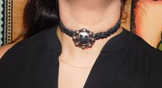 A personal favorite from my Etsy shop https://www.etsy.com/listing/464024848/the-head-honcho-concho-choker-on-black