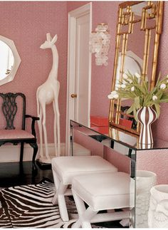 Decorating with gold // Jonathan Adler