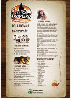 1º Festival Tropeiro - 2015 | Prefeitura de Pindamonhangaba