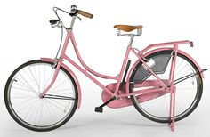 I don't even like pink, but why does my heart go *boom* when I see a pink bike?
